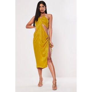 Halter Cutout Dress
